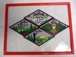 75th anniversary patch set