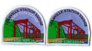 Zoarville Station Bridge patches