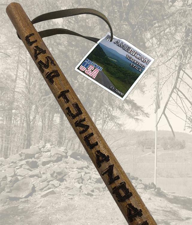 Centennial Hiking Stick
