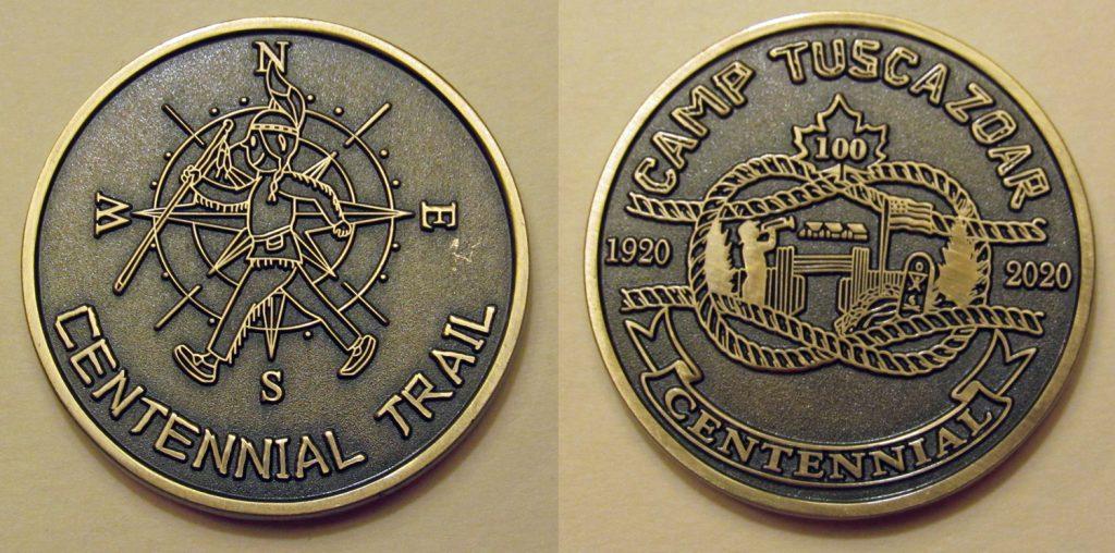 Centennial Trail coin