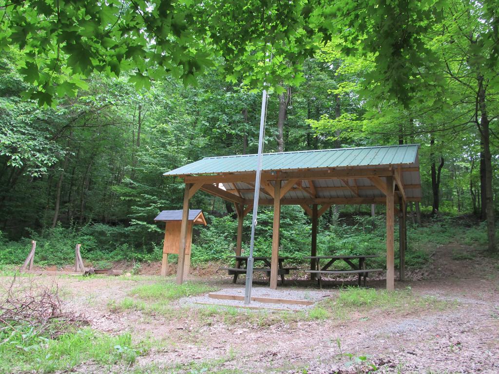 Delaware campsite