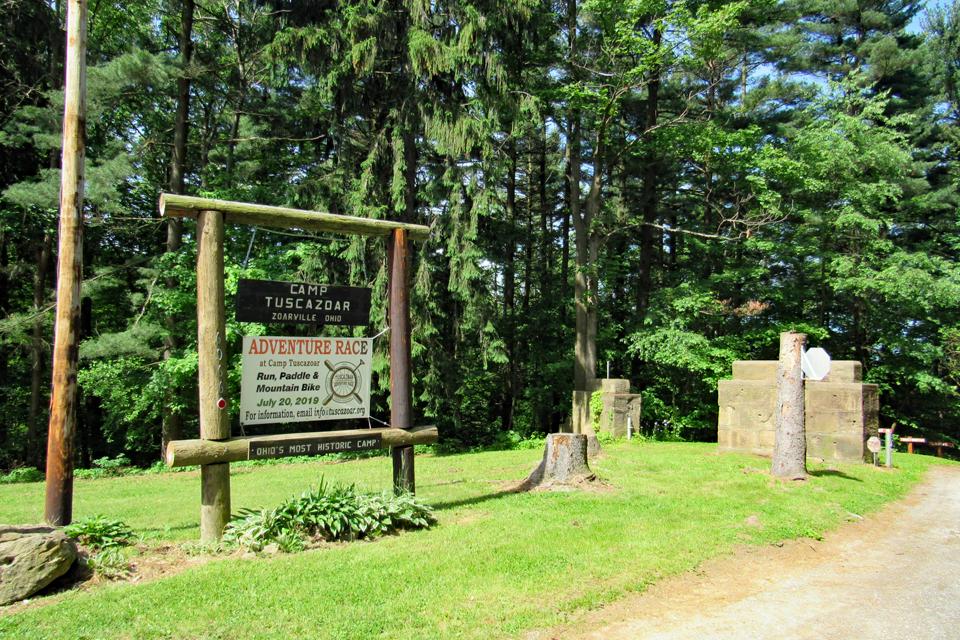Camp Tuscazoar entrance