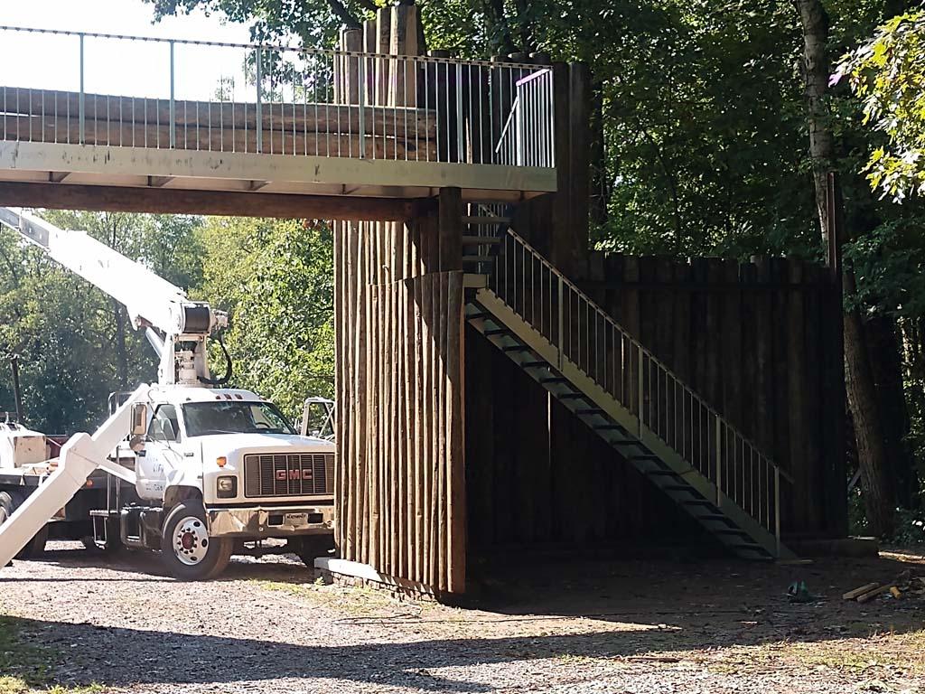 Stockade reconstruction 10