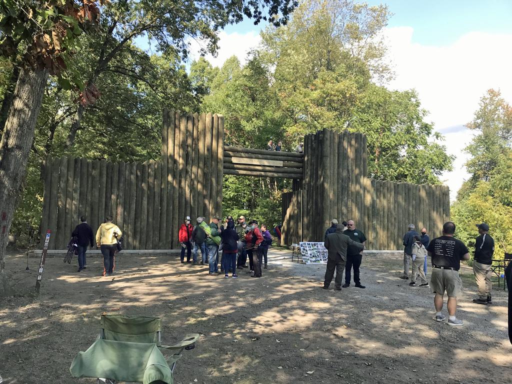 Stockade reconstruction 17