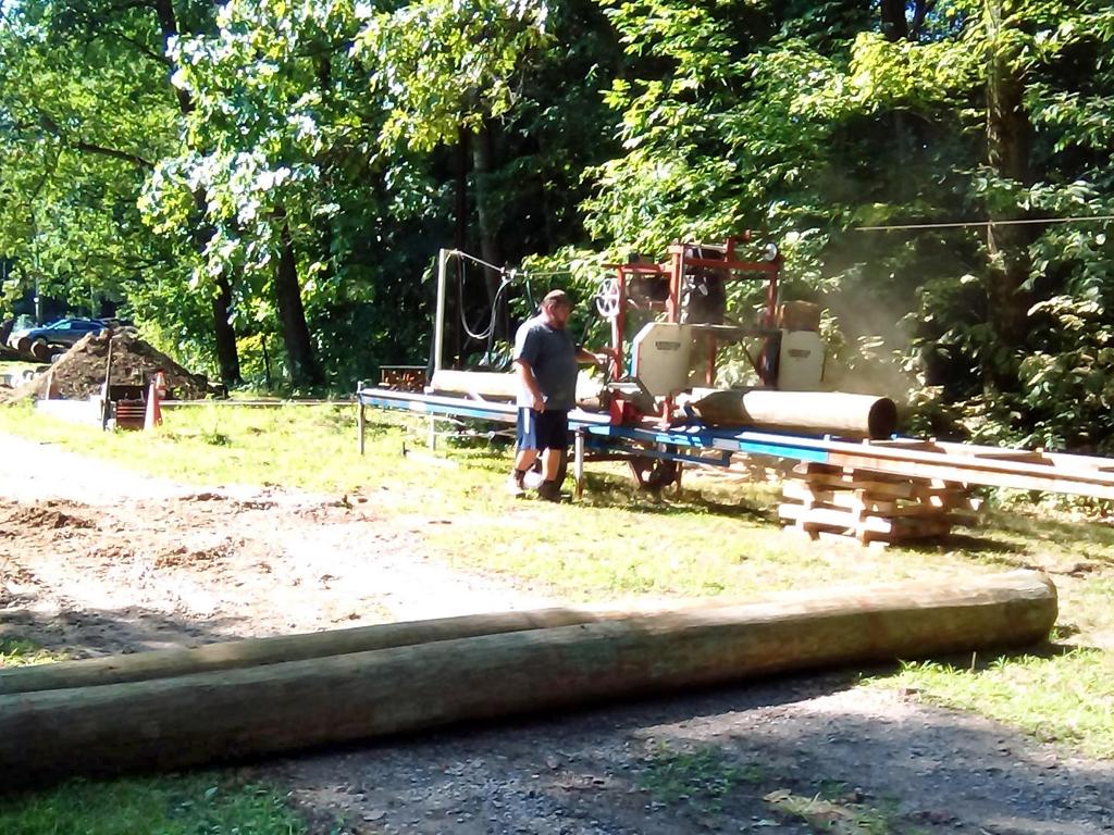 Stockade reconstruction 6