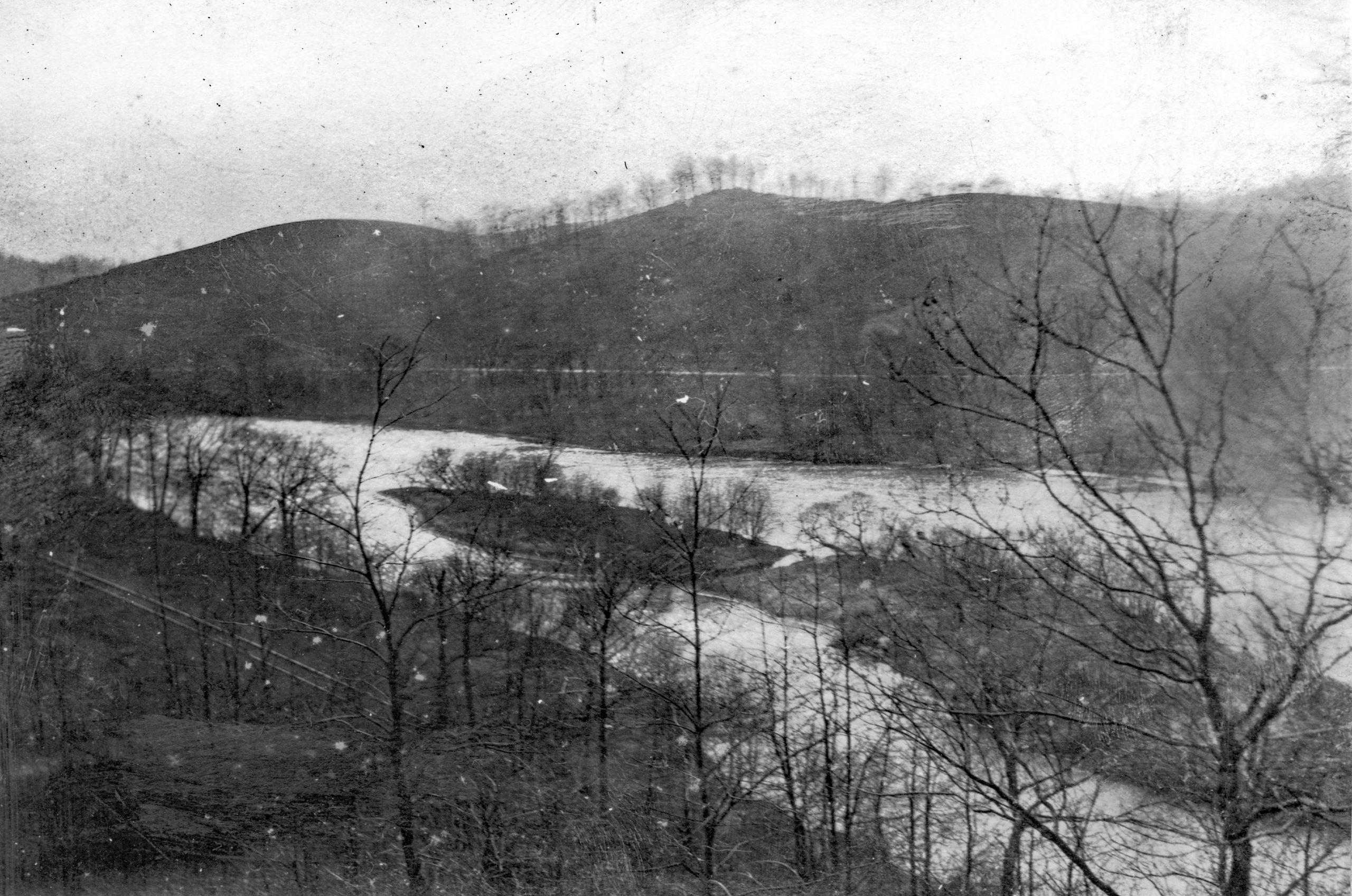 La Salle Island in 1924