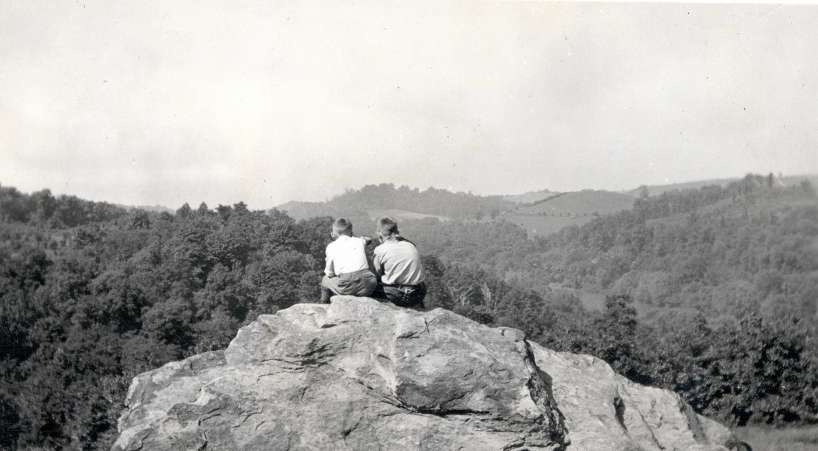 Scouts on Washington Roc in 1929