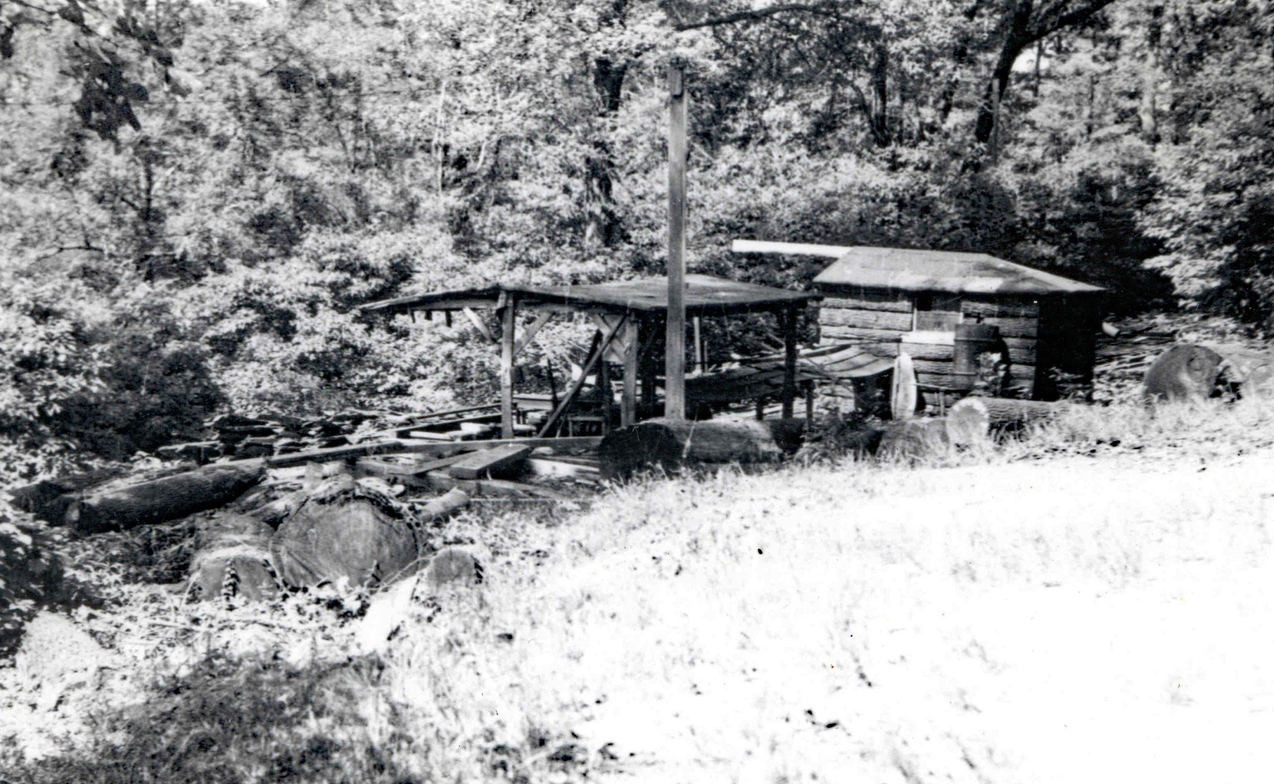 Sawmill in 1930