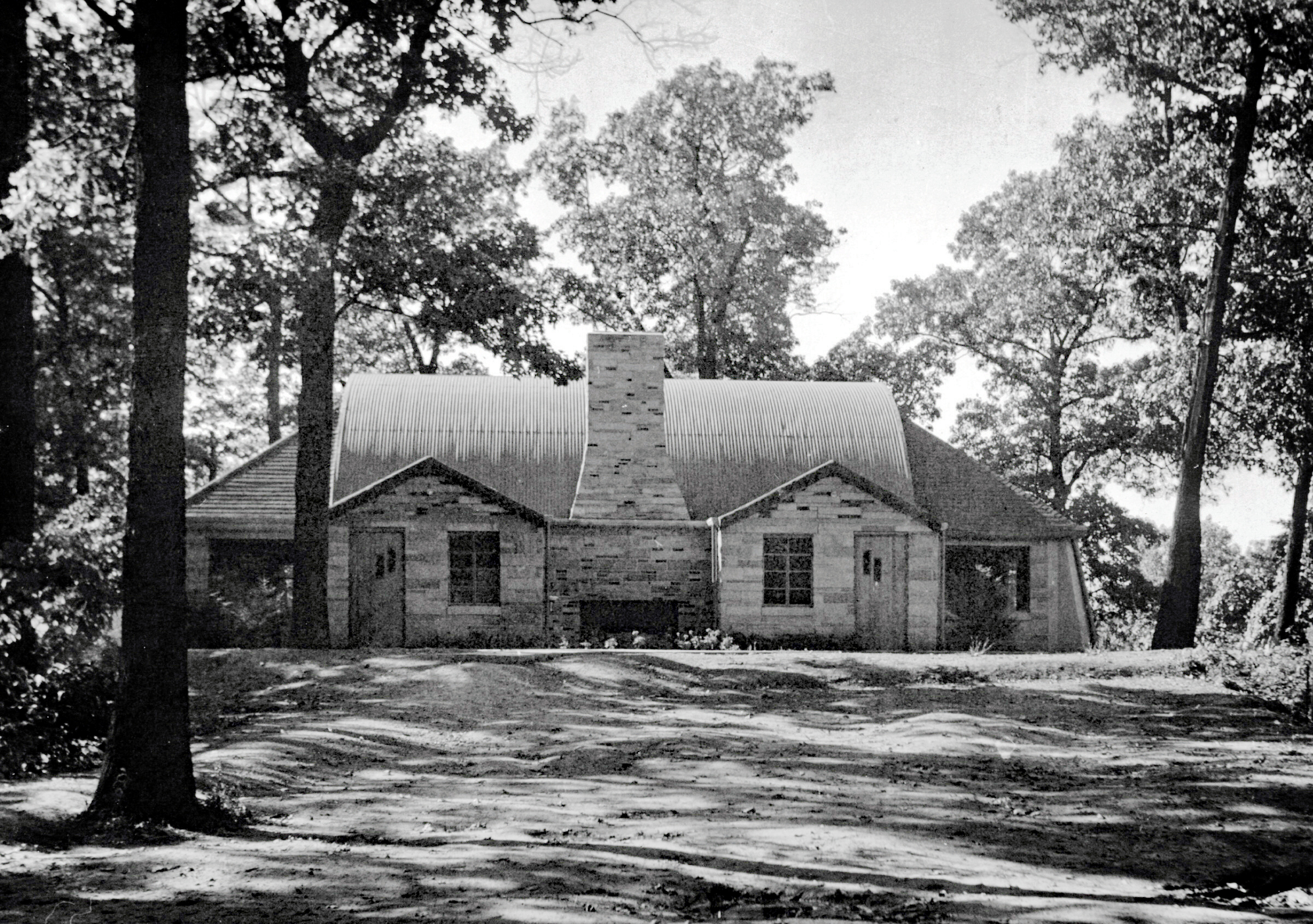 Hoover Lodge in 1949