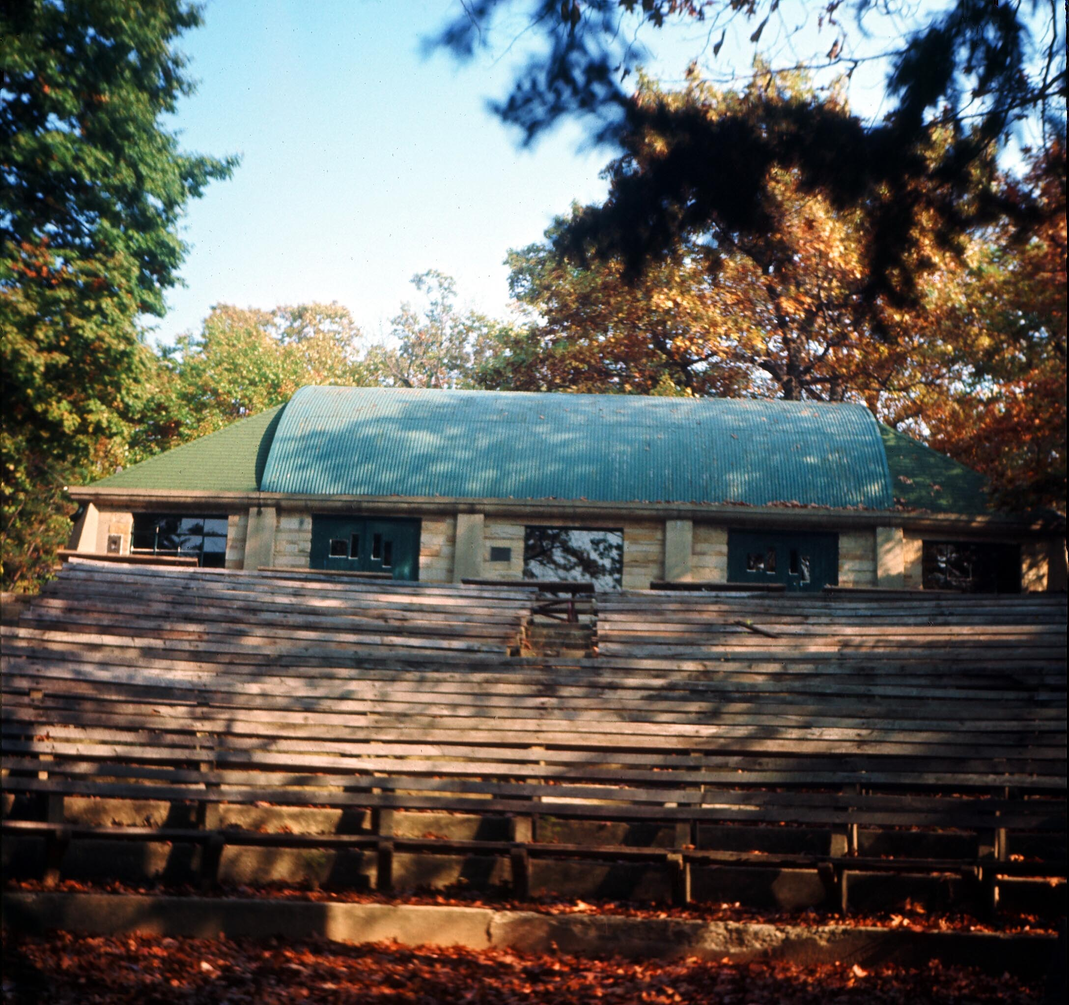 Hoover Lodge amphitheater in 1967