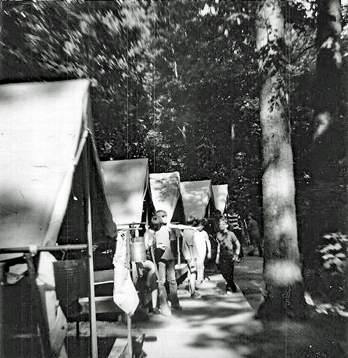 Tall Trees campsite in 1972