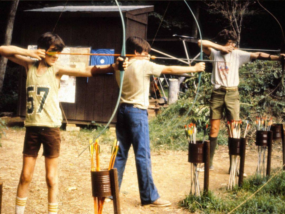 Archery range in 1978