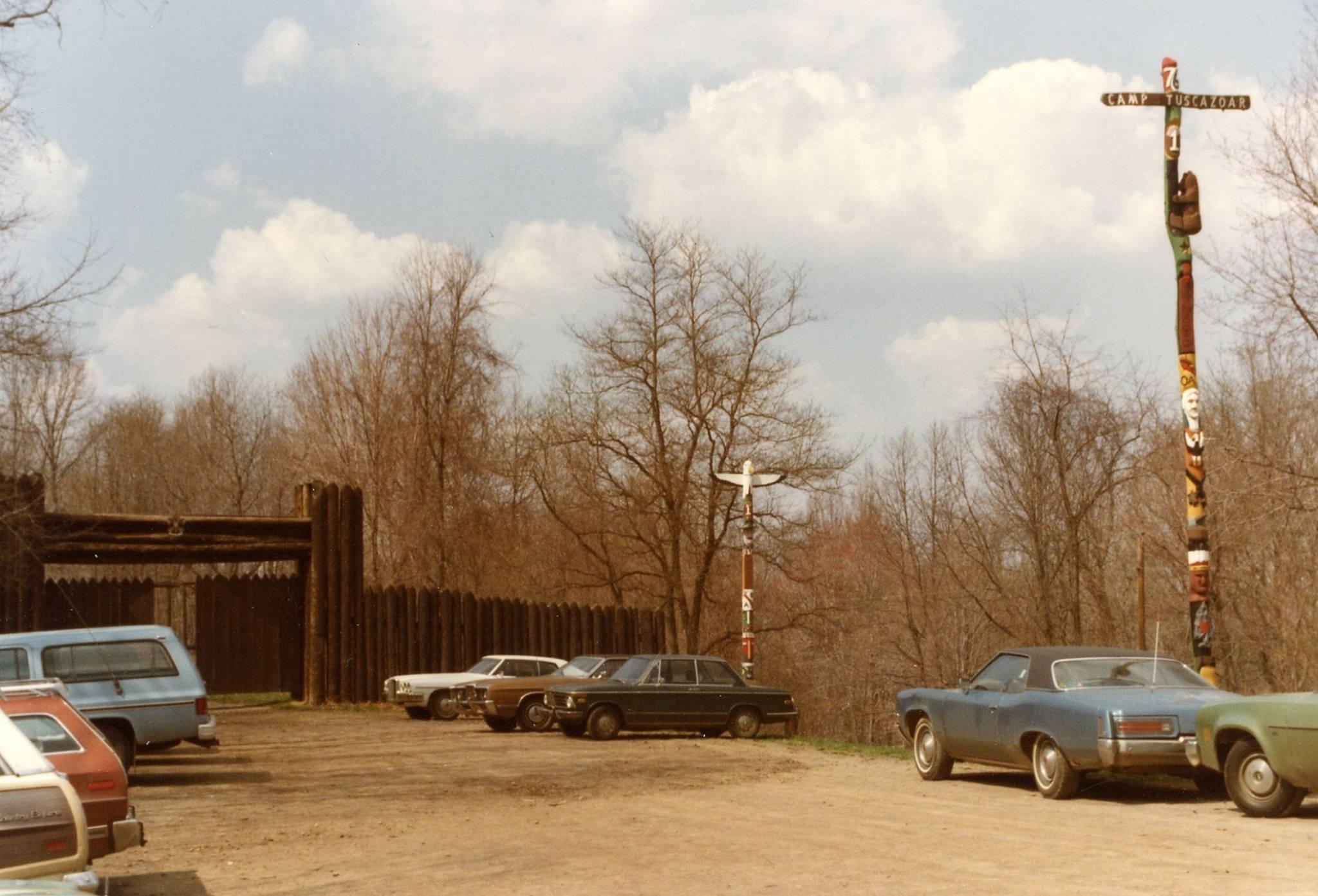 Parking lot in 1981