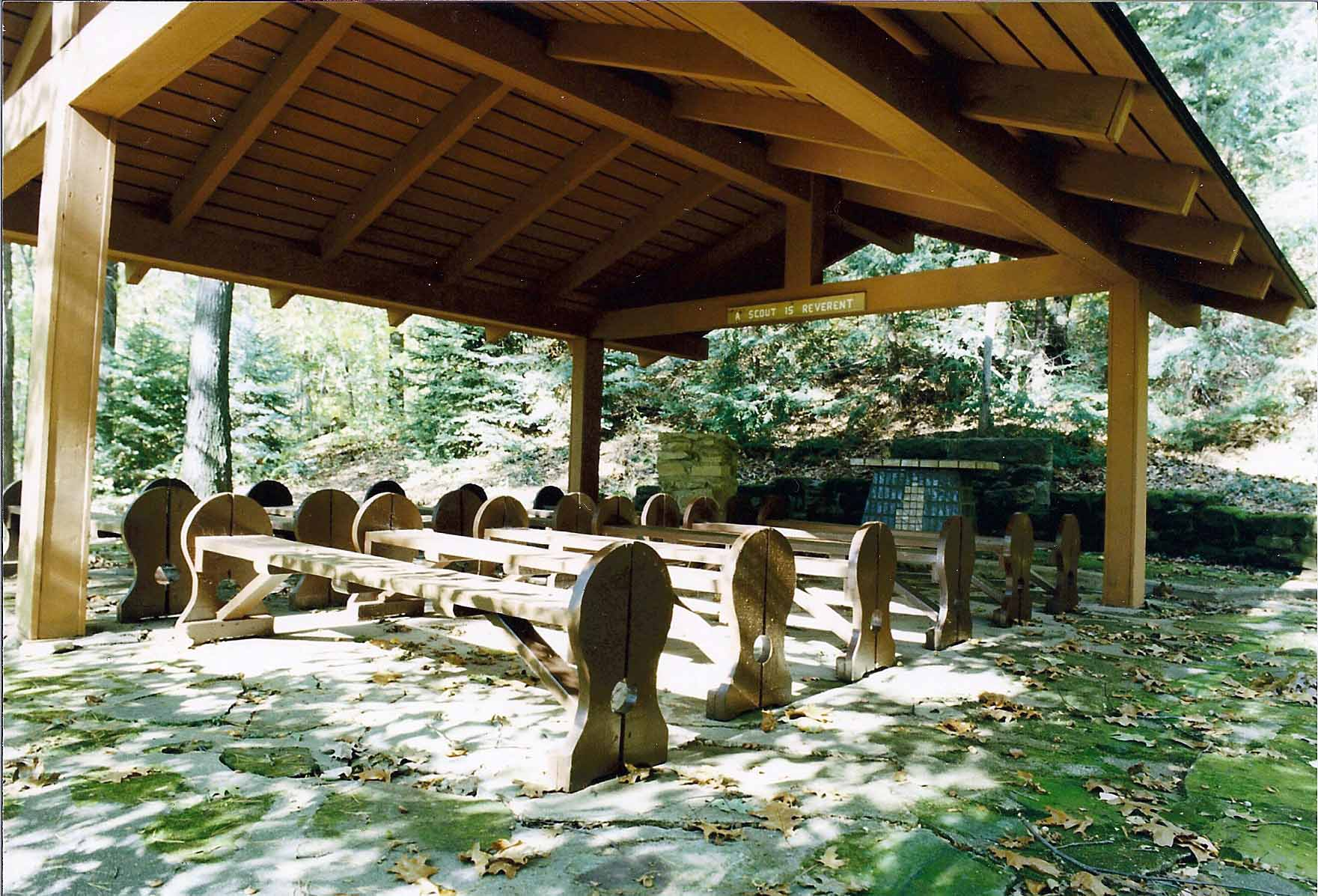 Tom's Chapel in 1990
