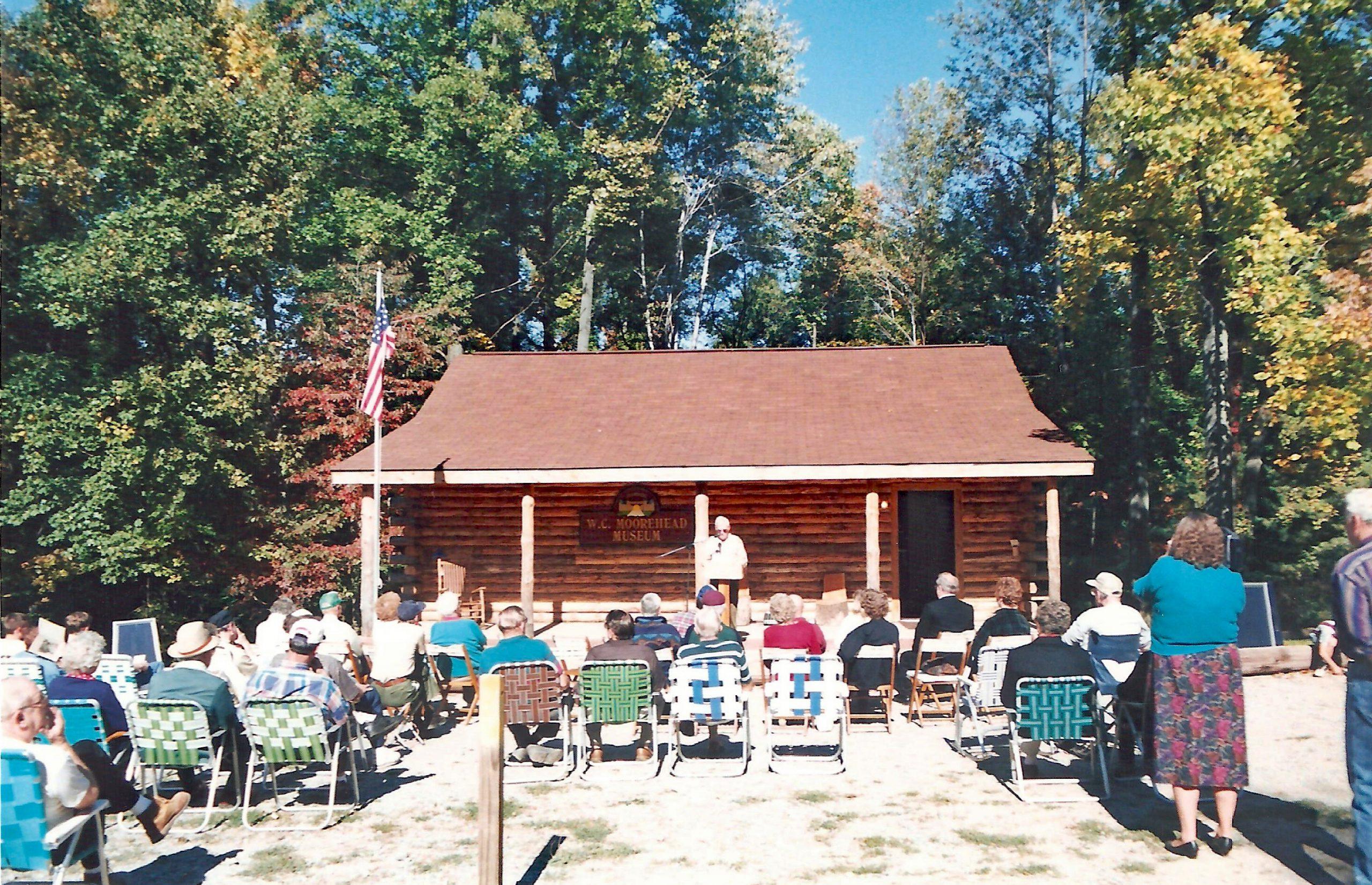 W.C. Moorhead Museum dedication in 1996