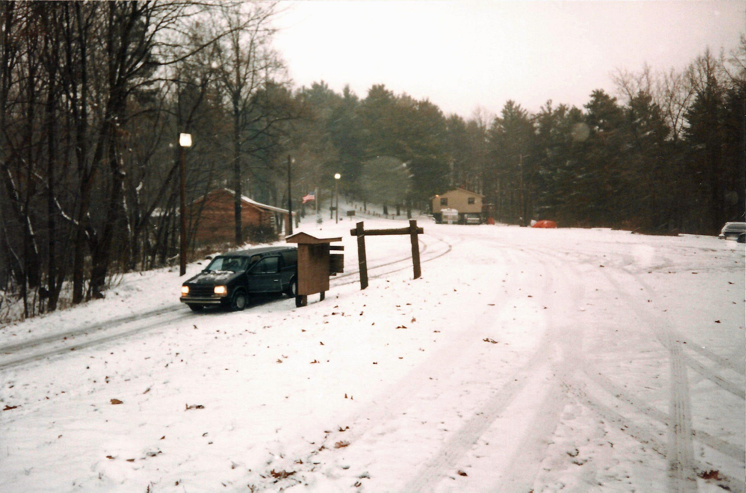 Parking lot in 1997