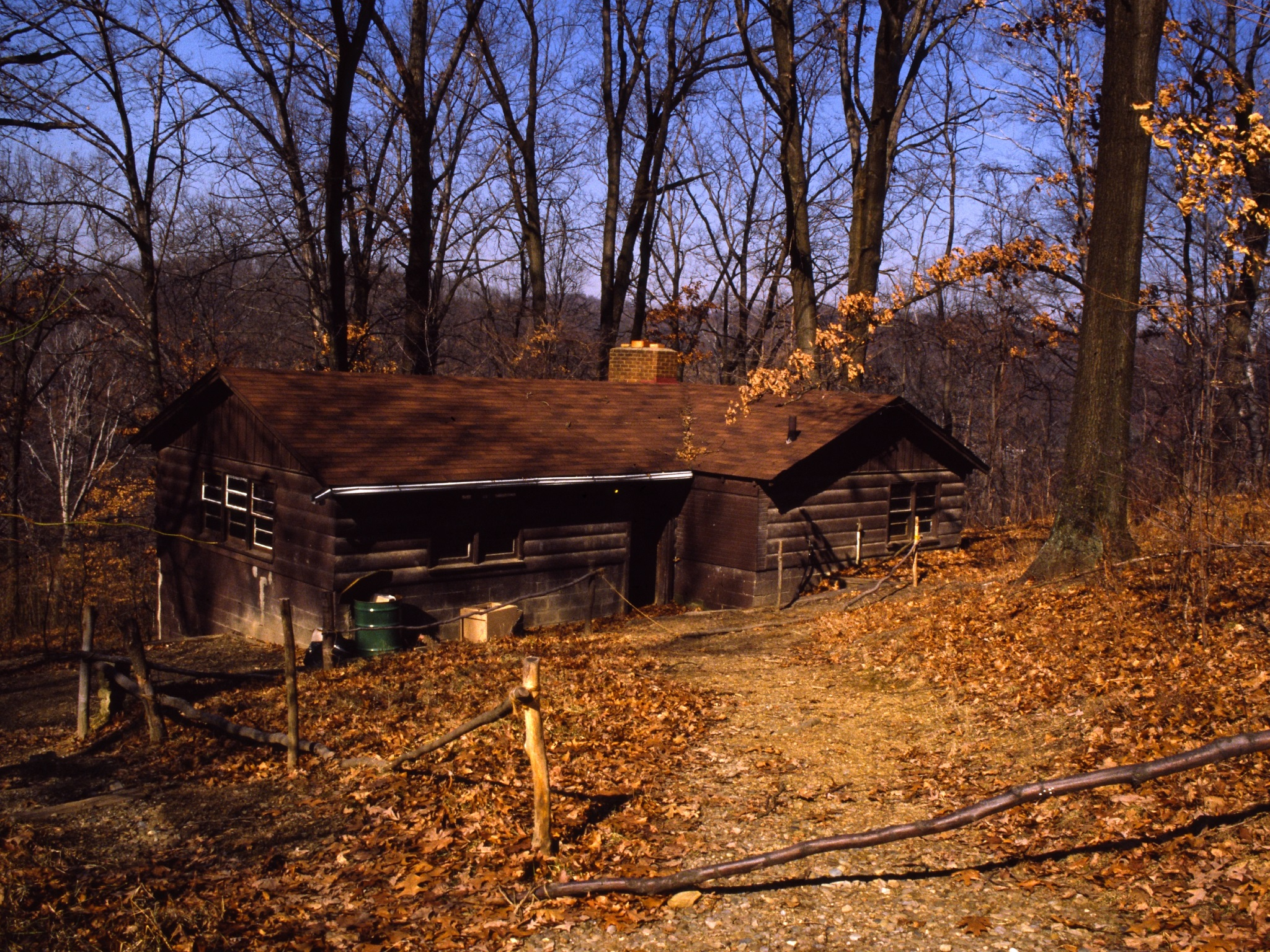 Shawnee Lodge in the 1980s